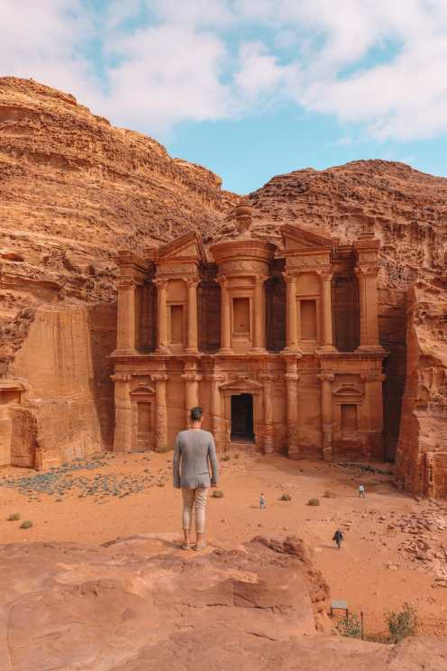 Finding The Monastery Up In The Mountains In Petra, Jordan (27)