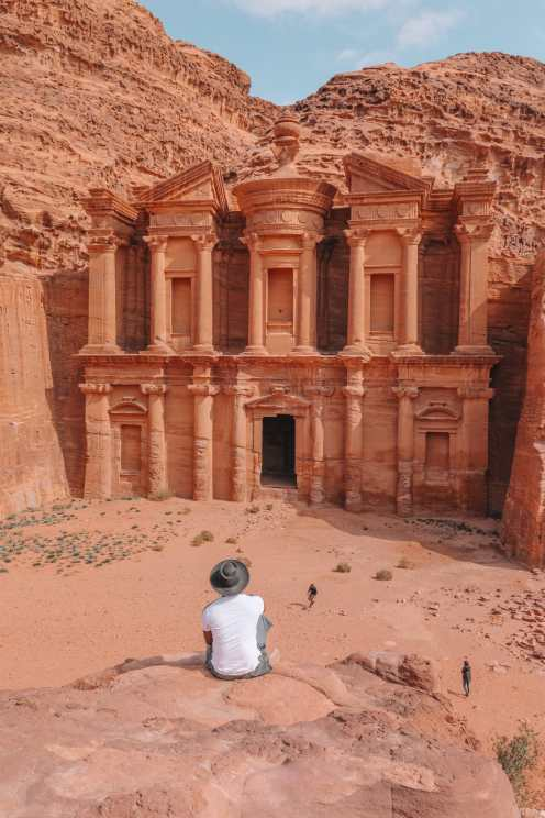 Finding The Monastery Up In The Mountains In Petra, Jordan (28)