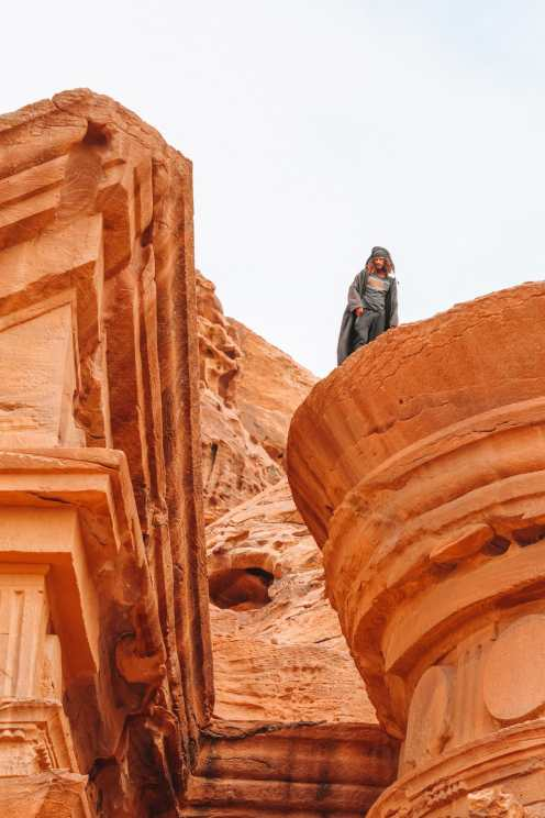 Finding The Monastery Up In The Mountains In Petra, Jordan (49)