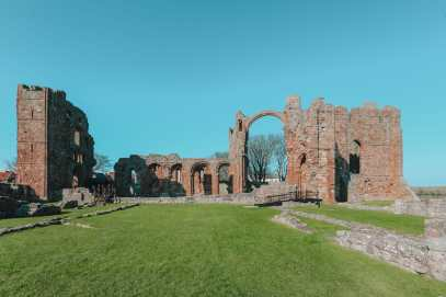 Visiting the Holy Island of Lindisfarne, England (6)
