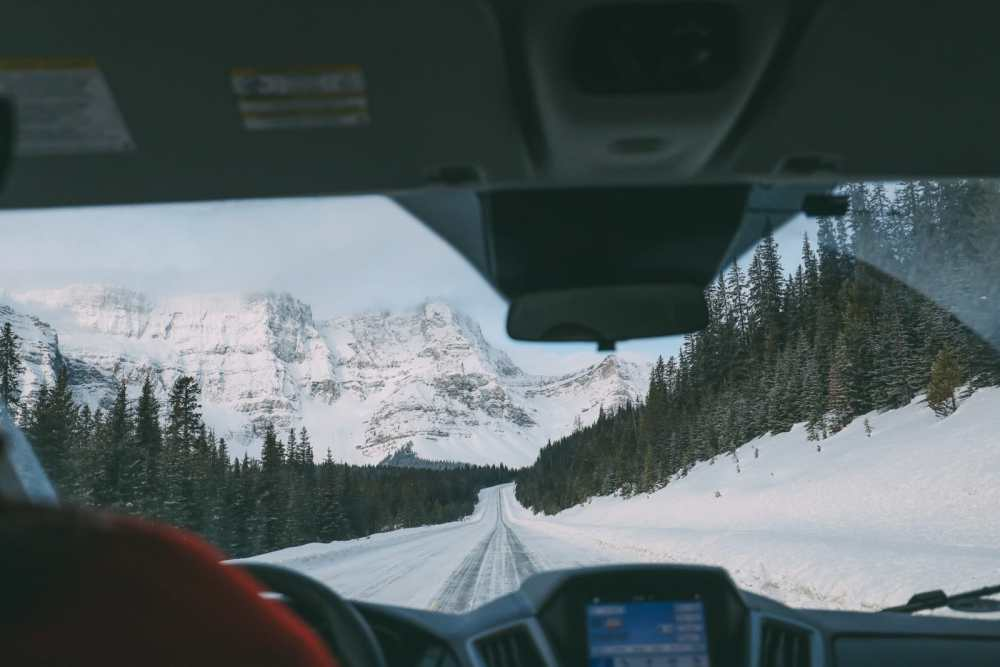 Driving Canada's Epic Icefields Parkway And Finding The Frozen Bubbles Of Abraham Lake (3)