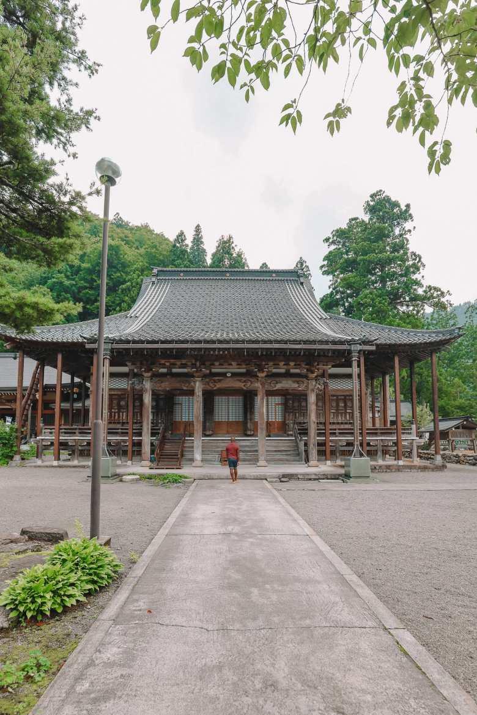 A Misogi Purification Ritual And Temples In Hakusan City - Japan (22)