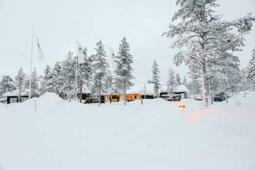 The Northern Lights Village And Star Arctic... In Lapland, Finland (3)