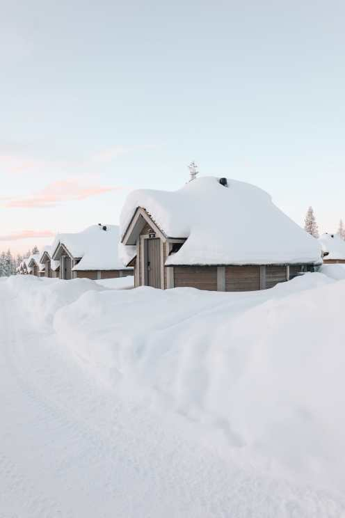 The Northern Lights Village And Star Arctic... In Lapland, Finland (27)