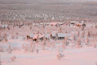 The Northern Lights Village And Star Arctic... In Lapland, Finland (37)