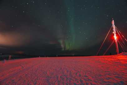 The Northern Lights Village And Star Arctic... In Lapland, Finland (55)