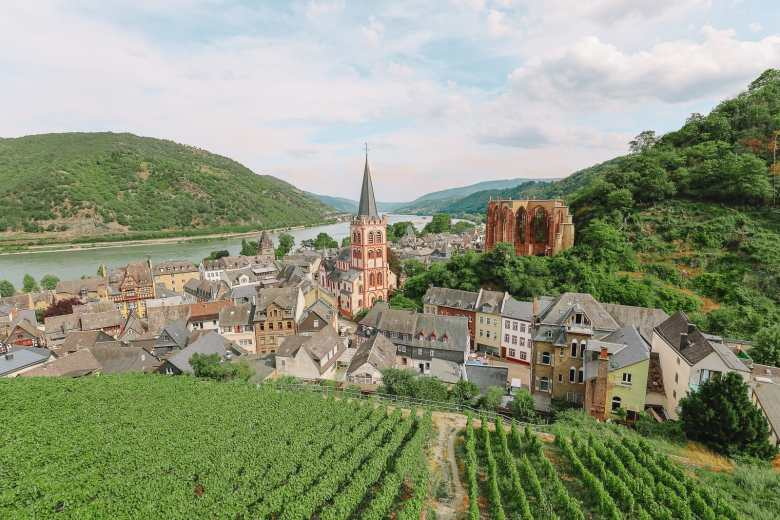 The Beautiful German Town Of Bacharach (34)