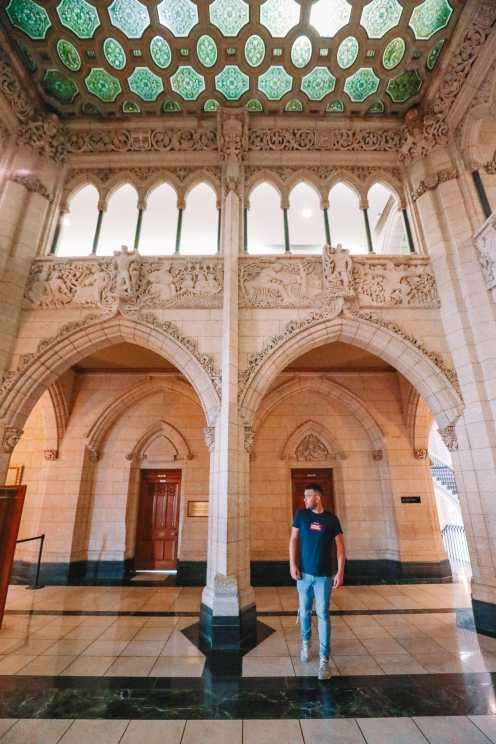 Visiting The Parliament Of Canada (17)