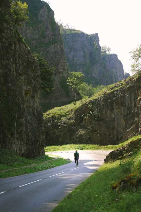 Cheddar Gorge near Weston-Super-Mare