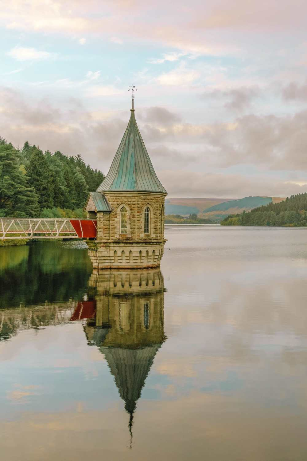 Pontsticill Reservoir in the Brecon Beacons