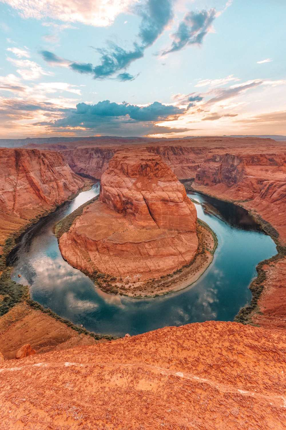 Horseshoe Bend In The Grand Canyon USA