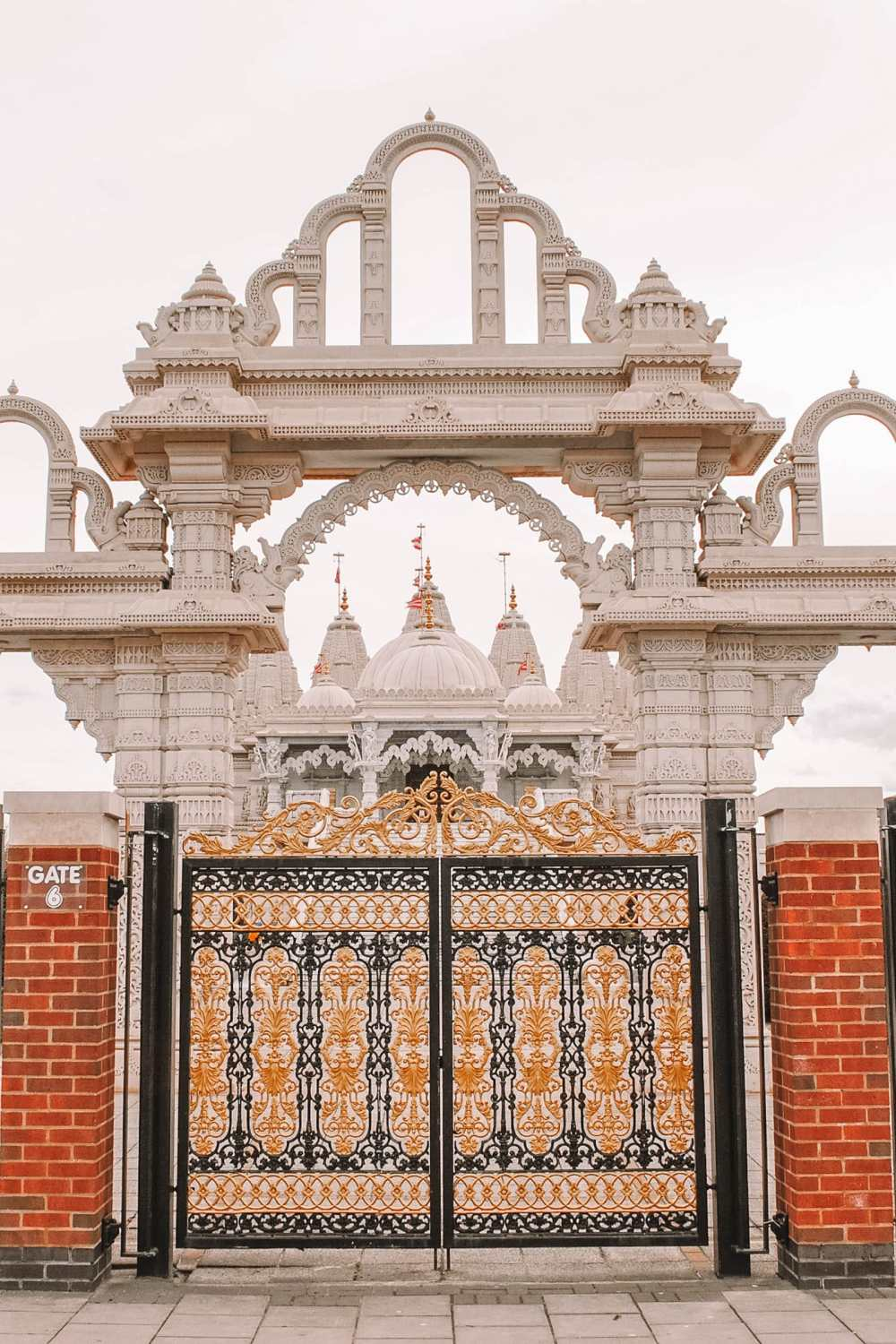 Hindu Temple in North London