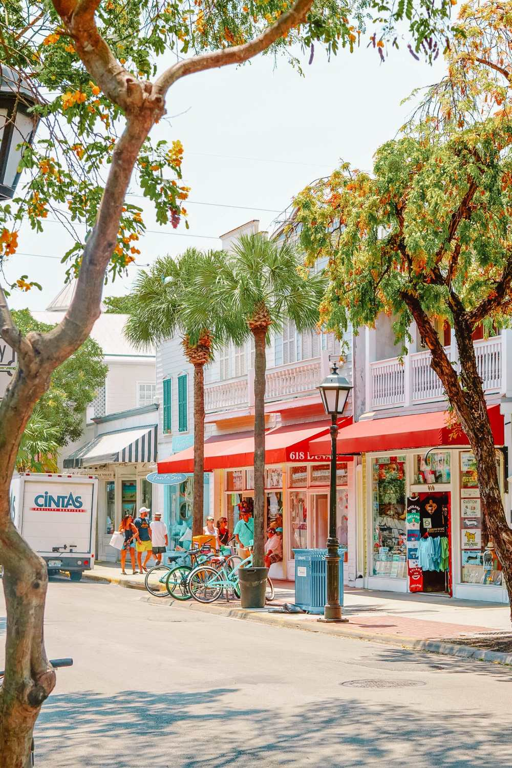 Duval Street Key West In The Florida Keys