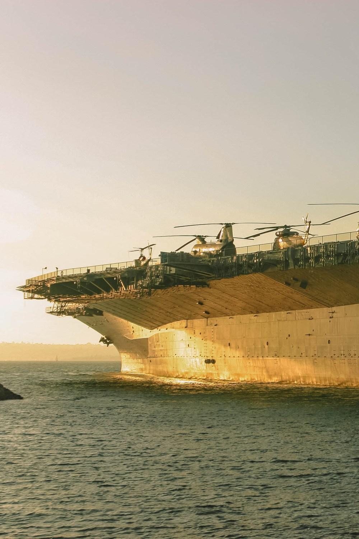 HMS Museum in San Diego Boat