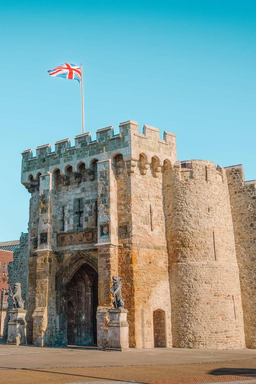 Medieval Gate In Southampton