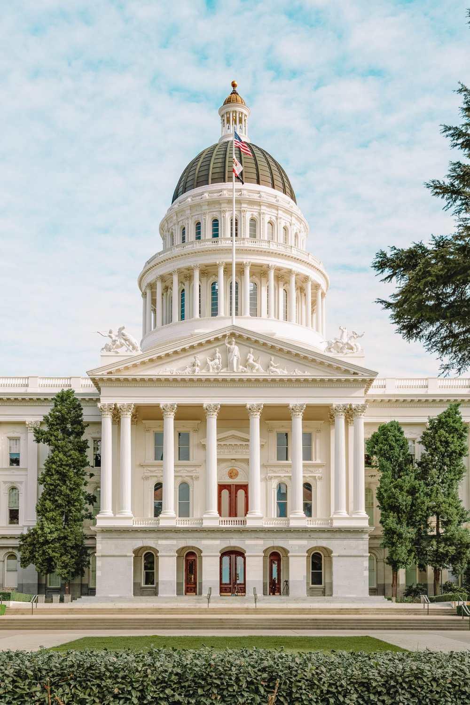 Capitol Building In Sacramento
