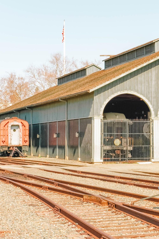 Train Museum in Sacramento