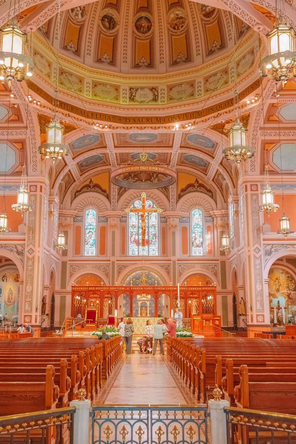 Cathedral In Sacramento