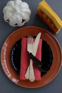ハロウィン テーブルコーディネート