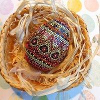 Точечная роспись декоративных пасхальных яиц своими руками