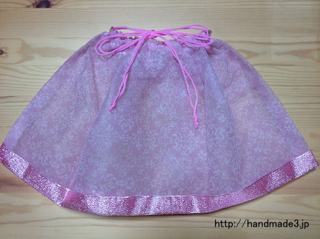 ハロウィンの手作り衣装