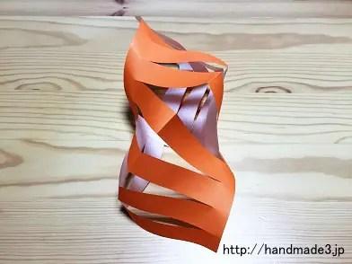 折り紙で七夕飾りの貝かざりを作った