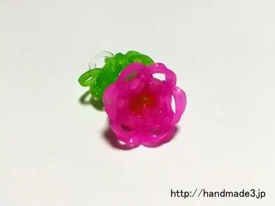 ファンルームでお花の指輪を作った