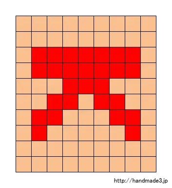 Kのアルファベット文字の図案