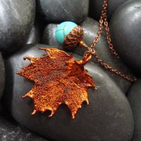 Handmade Inspiration: Leaf Jewelry