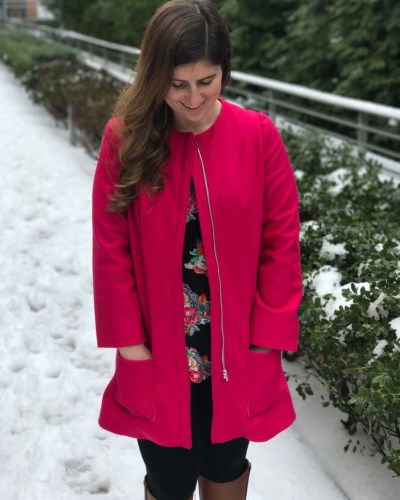 My First Coat – The Chloe Coat