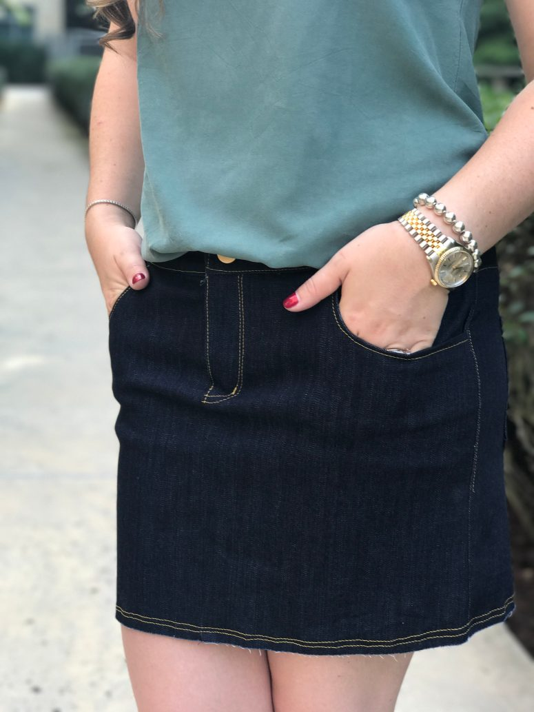 Sandbridge Skirt | Handmade by Lara Liz