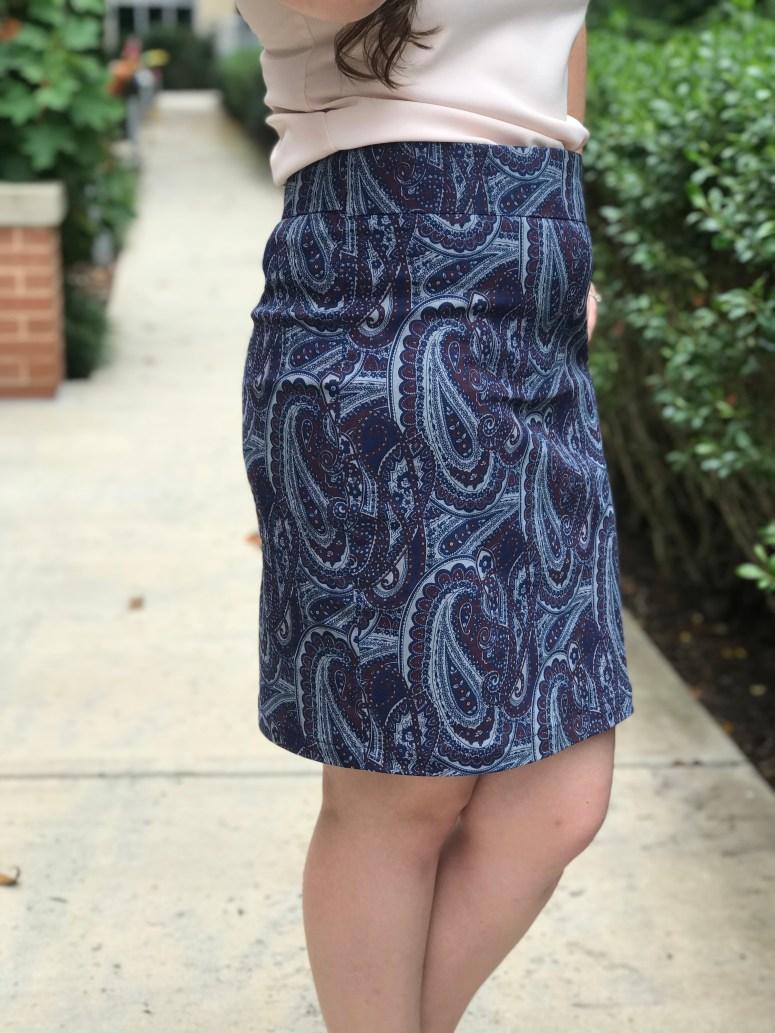 Alberta Street Pencil Skirt | Handmade by Lara Liz