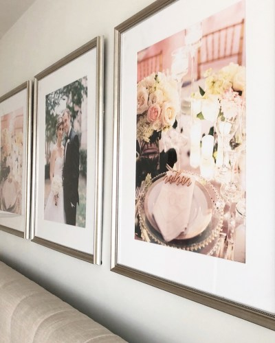 Adding a Personal Touch with Framebridge   At Home with Lara Liz
