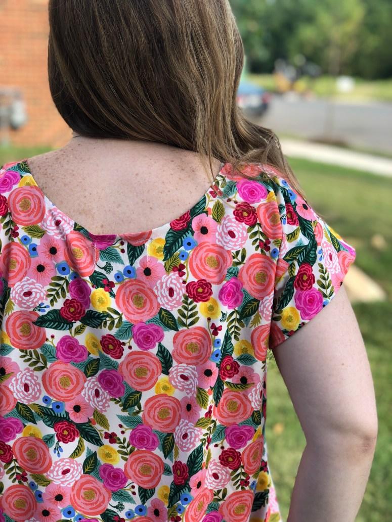 Summer Day Top Pattern Review | Handmade by Lara Liz