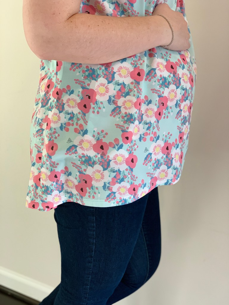 Lily Top | Handmade by Lara Liz | Maternity Sewing