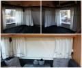bedroom + dining room