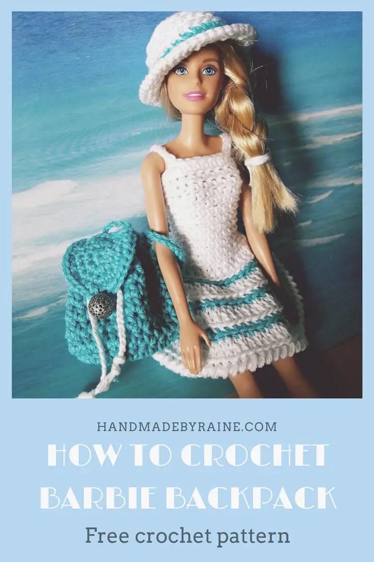 Barbie Backpack Handmadebyraine