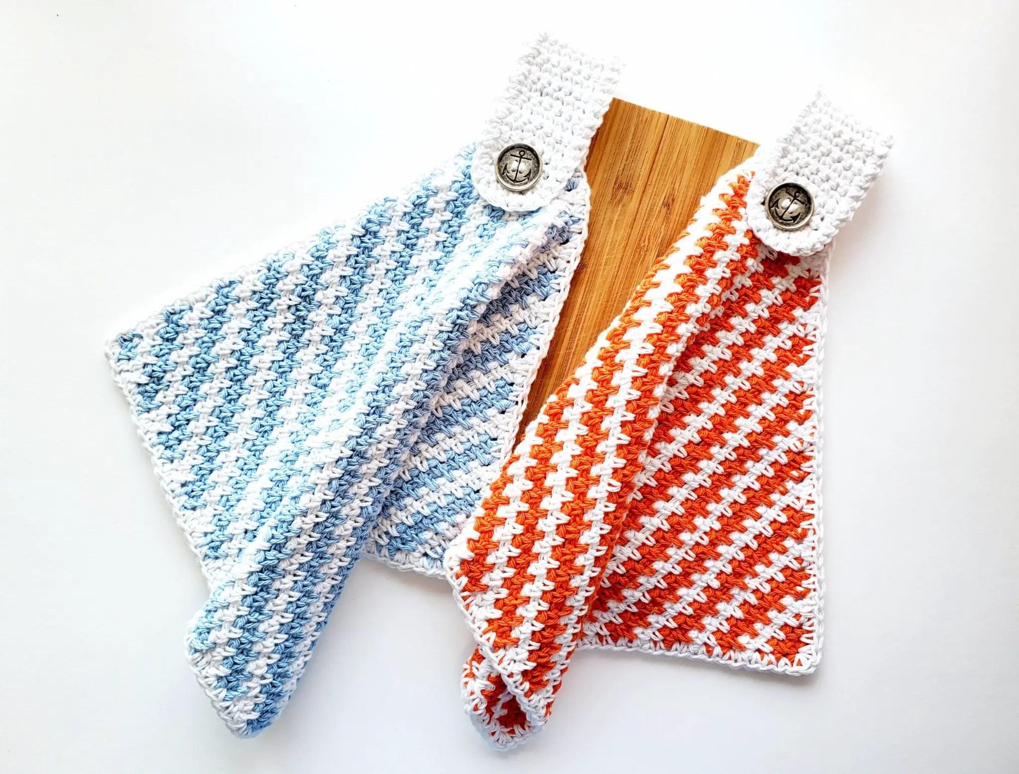 How to crochet Nautical Towel