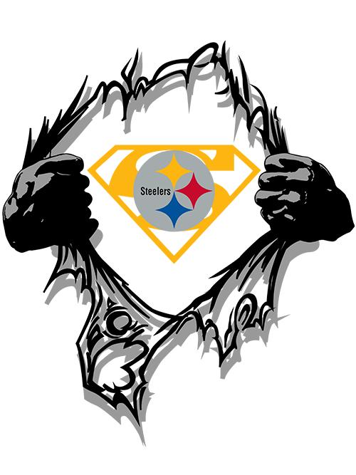 steelers super logo & svg