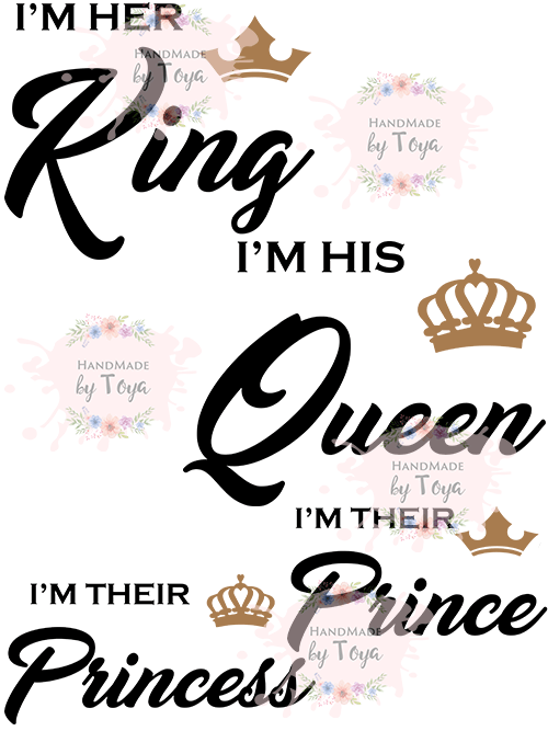 His Queen Her King Svg.Svg Files His Queen Her King Www Picswe Com
