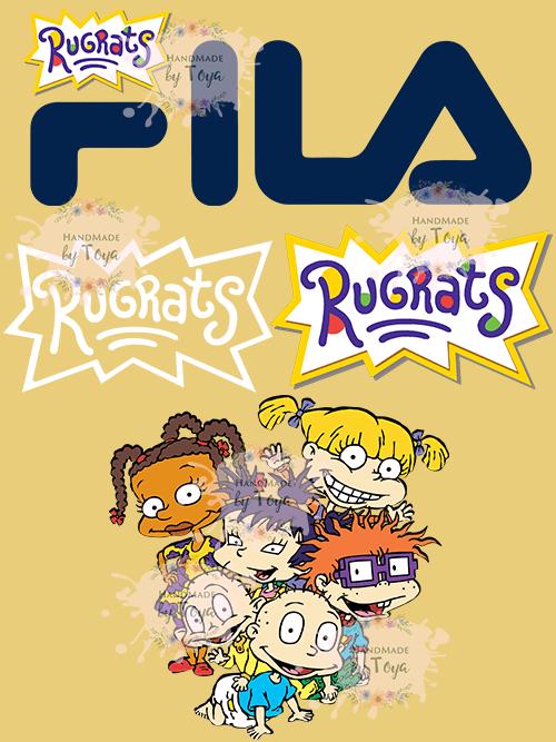 90's Cartoon Bundle SVG, DXF & PNG