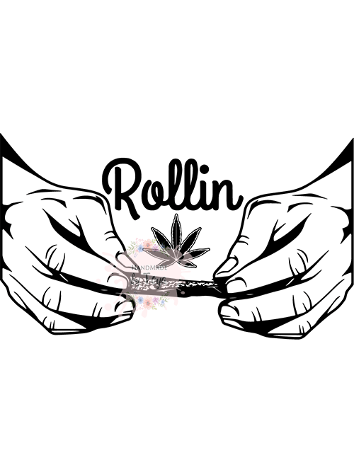 Rolling Weed Svg Png Handmade By Toya