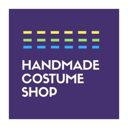 Handmade costume shop logo