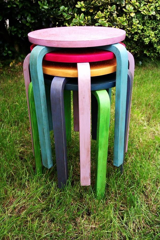 Pop Art stools