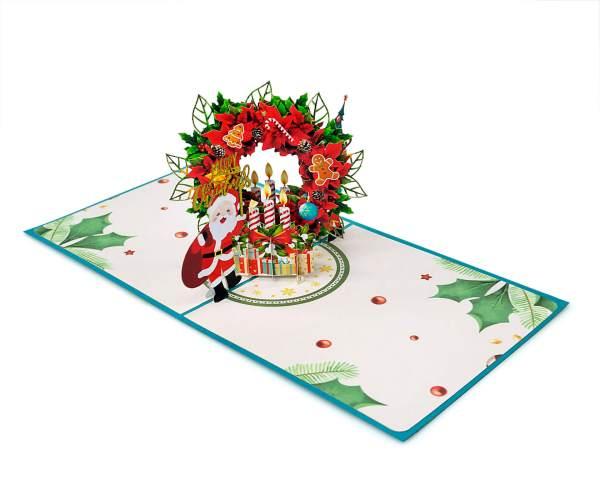 3D pop-up greeting card
