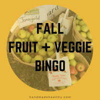 [PRINTABLE] FALL FRUIT + VEGGIE BINGO!