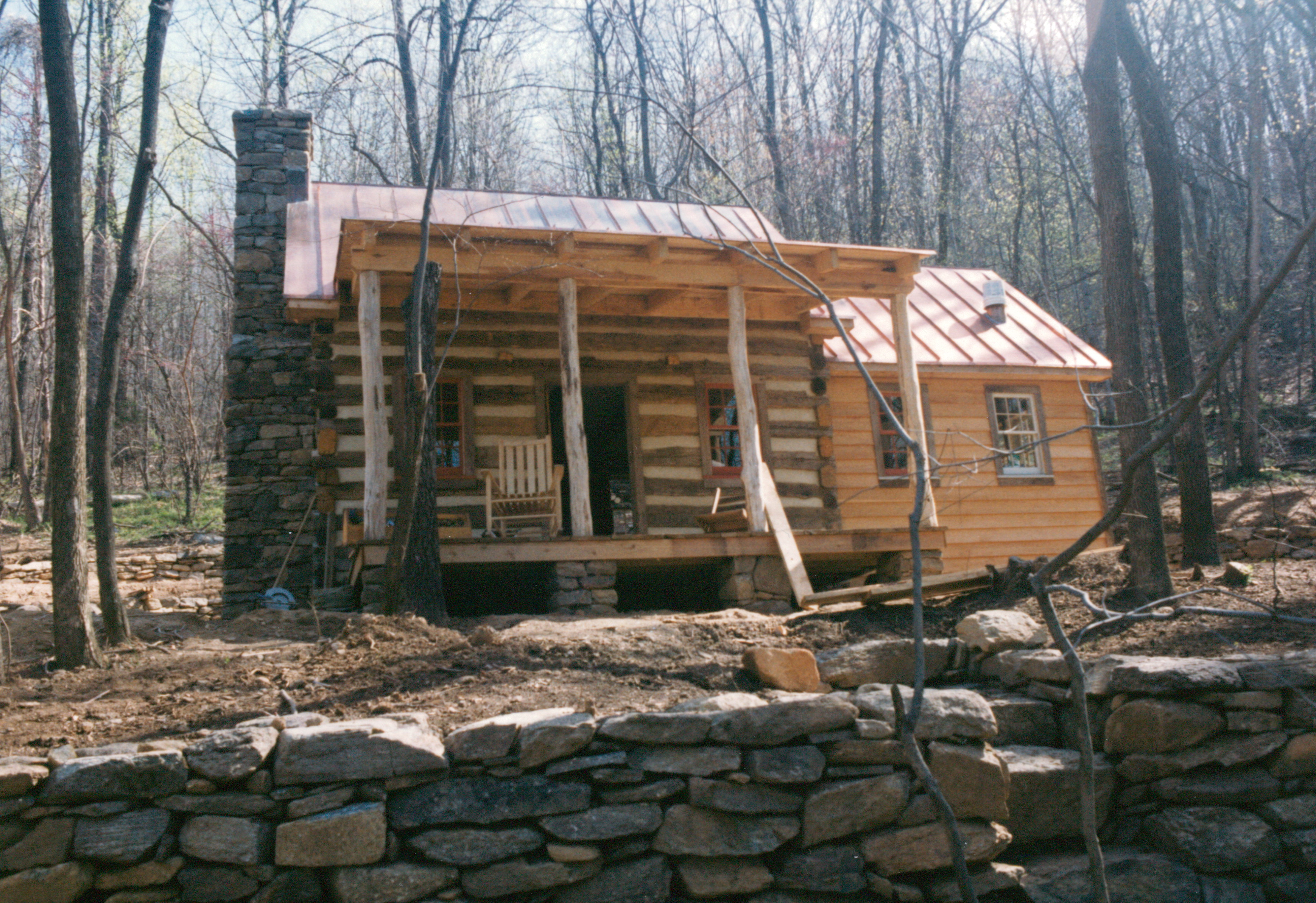 Part Five Of Building A Rustic Cabin Handmade Houses