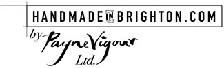 Handmade in Brighton by Payne Vigour Ltd
