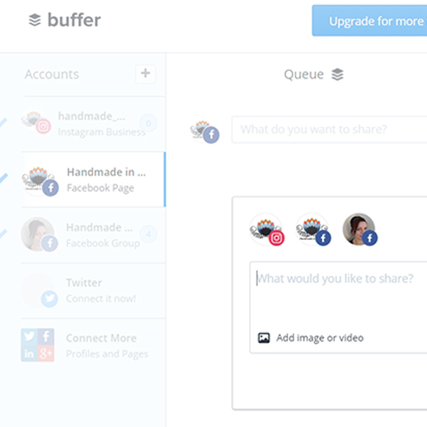 How to schedule social media using Buffer