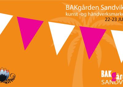 BAKgården Kunst og håndverksmarked